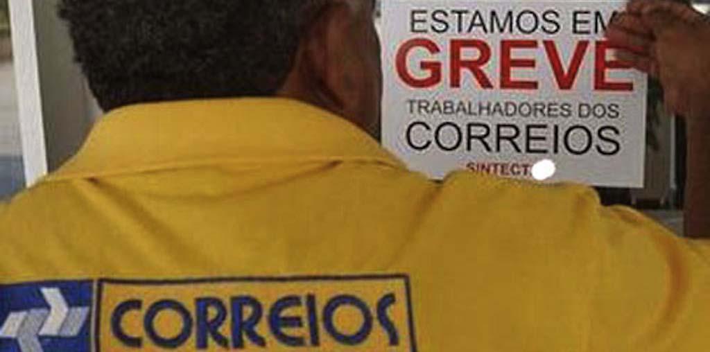 349 Correios greve - Servidores dos Correios devem iniciar greve nesta quarta-feira