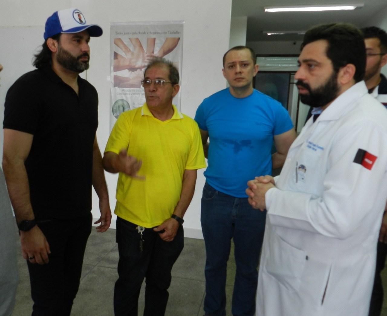 508c507e 5fc8 45c9 8659 f4f6f3baf7ac 1 - Parente de Bolsonaro, 'Léo Índio' visita Paraíba e discute indicação de cargos federais no estado
