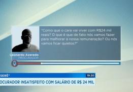 'R$24 MIL É UM MISERÊ': Áudio de procurador do MP indignado com 'salário baixo' viraliza – OUÇA