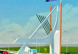 NOVIDADE: Obra de construção do portal da cidade de Alhandra segue a todo vapor