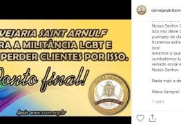 'JAMAIS ACEITAREMOS O PECADO' Cervejaria se manifesta contra LGBT e divide opiniões na rede social