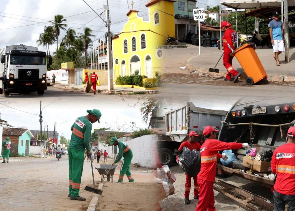 Coleta de Lixo 1024x732 - Mil dias de gestão: Secretária de Meio Ambiente destaca trabalho de limpeza urbana de Conde