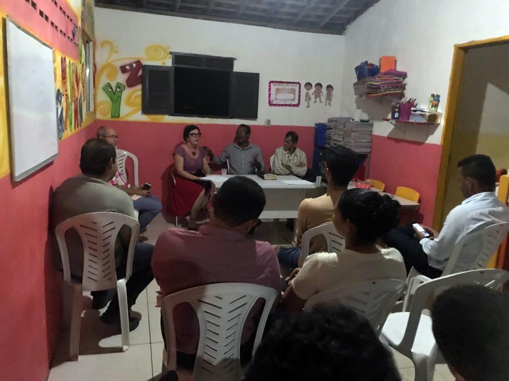 Encontro Prefeita Márcia Lucena e Pastores da APEC 2 - Prefeita Márcia se encontra com lideranças evangélicas de Conde