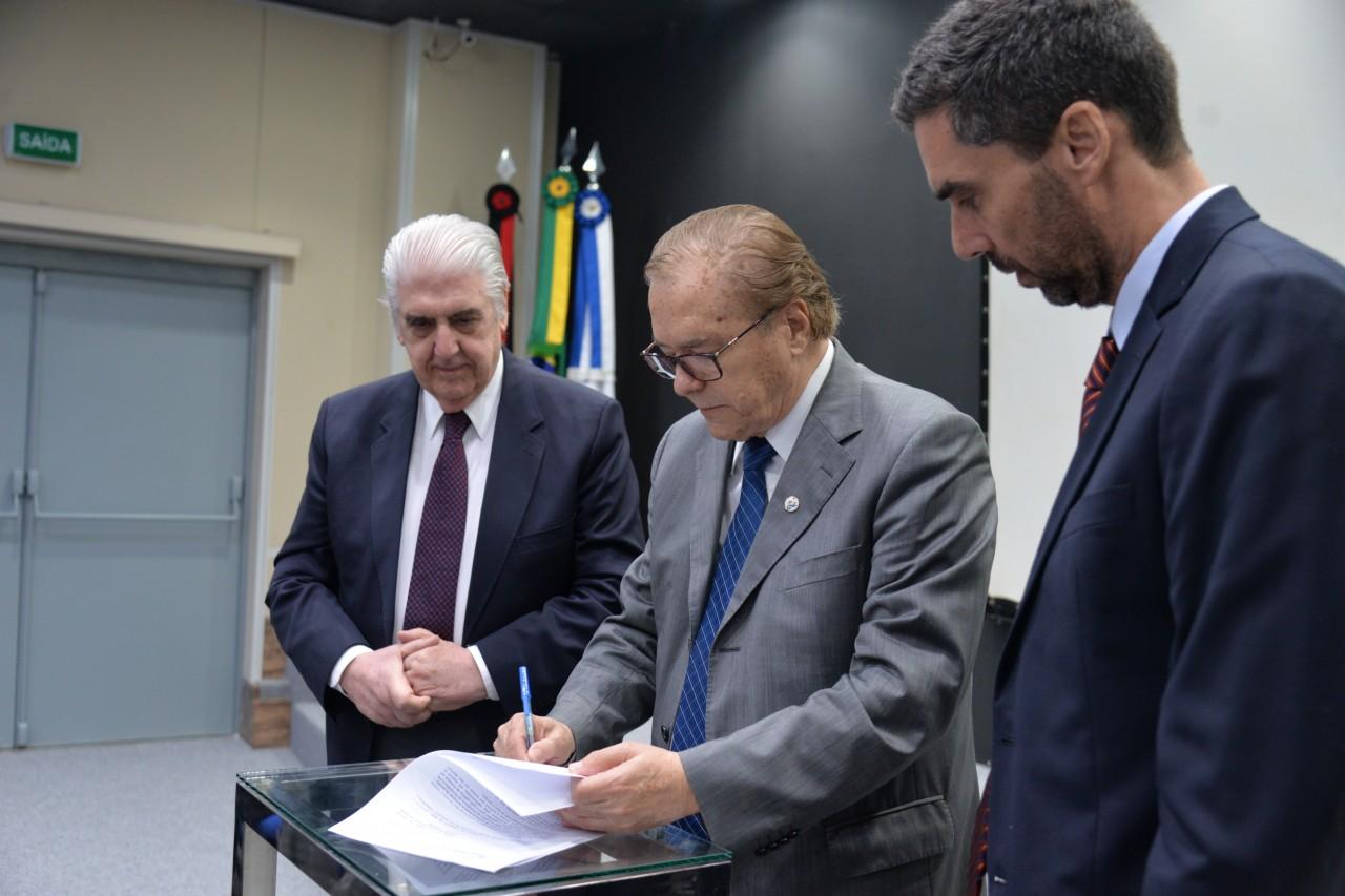 Rubens Medrano Marconi Medeiros e Marcelo Abrantes - Paraíba ganha Câmara Brasileira de Comércio Exterior