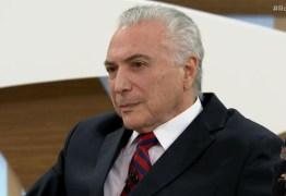 "Temer admite, durante entrevista, que existiu ""golpe""contra Dilma Rousseff – VEJA VÍDEO"