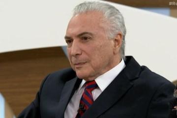 """""""Há uma pequena questão técnica na China, mas eles virão para o Brasil"""", diz Temer sobre envio de insumos ao Brasil"""