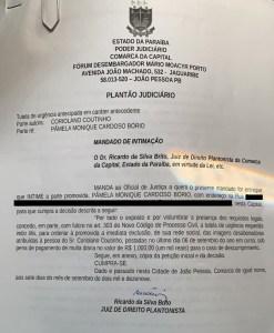WhatsApp Image 2019 09 08 at 11.40.00 1 247x300 - Justiça ordena que Pâmela Bório retire imagem de Coriolano Coutinho de rede social; LEIA DECISÃO