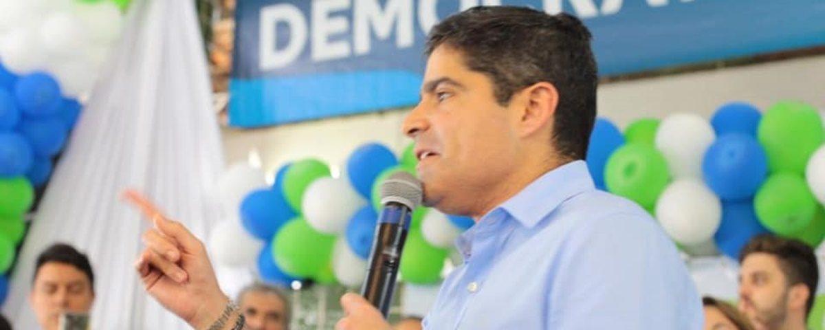 acm neto - ACM Neto diz na PB que DEM está preparado para ocupar o Planalto - Por Nonato Guedes