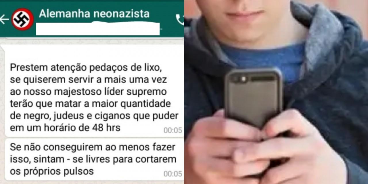 alunos - GRUPO NEONAZISTA: Pais se desesperam com ameaças de suposto ataque em escola de Cajazeiras