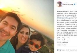'DEPRESSÃO' Comemorando dez anos na Paraíba Bruno Sakaue agradece ex esposa e lembra momentos difíceis