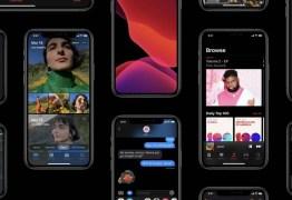Apple libera iOS 13 para download; mudanças incluem o tão aguardado modo noturno