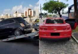 OSTENTAÇÃO E CLONAGEM: PRF e PM realizam ação conjunta e recuperam Camaro 'placa fria' e mais dois carros – VEJA VÍDEO