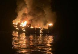 URGENTE: Incêndio em embarcação deixa pelo menos 25 mortos