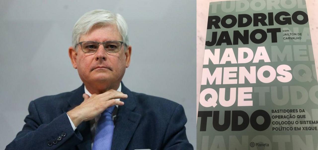 janot livro - JANOT NO PREJUÍZO: Livro polêmico em que procurador revela plano de matar Gilmar Mendes é vazado às vésperas do lançamento