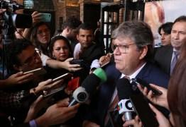'Essa disputa é muito pequena', diz João Azevêdo após RC reivindicar obras na PB – OUÇA