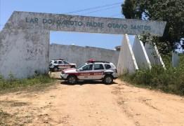 Princípio de rebelião é registrado no Lar do Garoto em Lagoa Seca