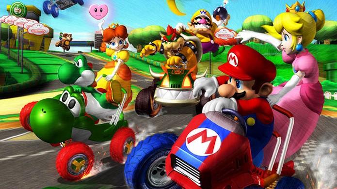 mario kart serie suoer nintendo 64 ds 3ds - Super Mario Tour quebra recordes e regista 20 milhões de downloads em 24 horas