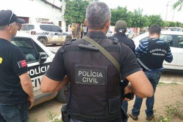 operacao policia civil - Polícia prende na PB líder de facção criminosa do RN