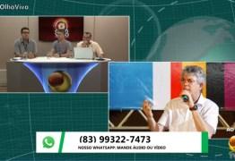 ENTREVISTA: Ricardo Coutinho nega rompimento com João Azevêdo, mas admite que pode se tornar adversário se 'caminho' não for preservado; VEJA VÍDEO