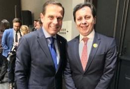 Publicitário representa Paraíba em encontro com governador de São Paulo