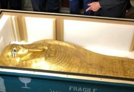 Egito recuperará sarcófago de US$ 4 milhões roubado durante primavera árabe