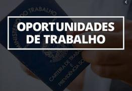 Mais de 90 vagas de empregos são ofertadas em João Pessoa esta semana