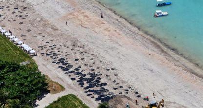 leo no Nordeste - Governo Bolsonaro impõe silêncio sobre óleo nas praias do Nordeste: 'Se alguém abrir a boca é exonerado'