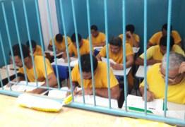 Aumenta número de reeducandos inscritos no Encceja e Enem