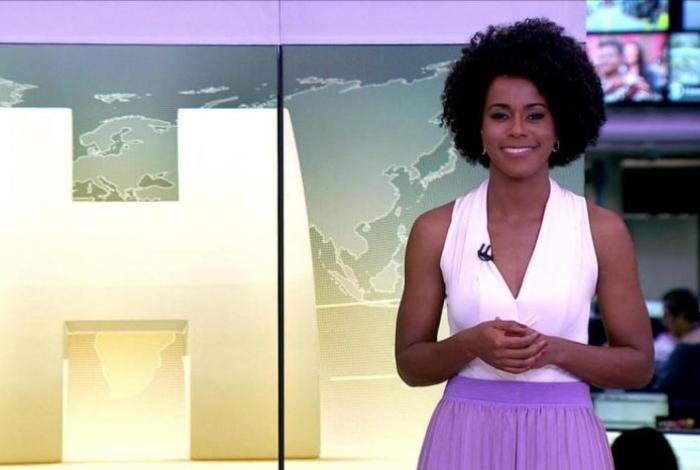1 maju 2 13556830 - Novo visual de Maju Coutinho gera discussão nos bastidores da TV Globo