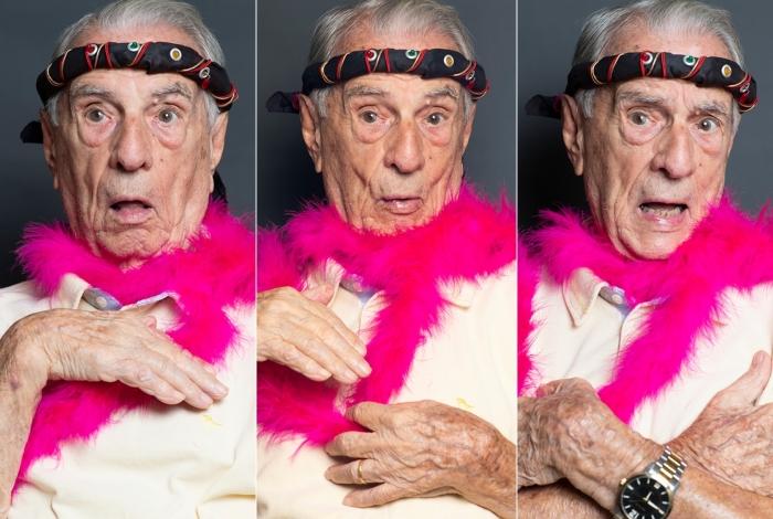 1 orlando6 13763061 - Seu Peru, Orlando Drummond, faz cem anos nesta sexta e diz que bom humor é a receita da longevidade
