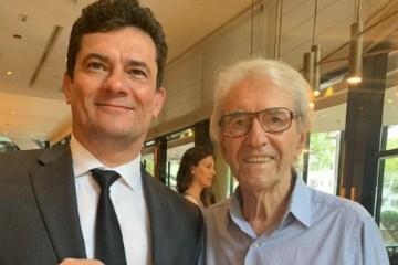 20191019 rd1 juca de oliveira e sergio moro - Juca de Oliveira convida Sergio Moro para peça de teatro