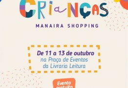 Manaira Shopping prepara programação especial para o Dia das Crianças