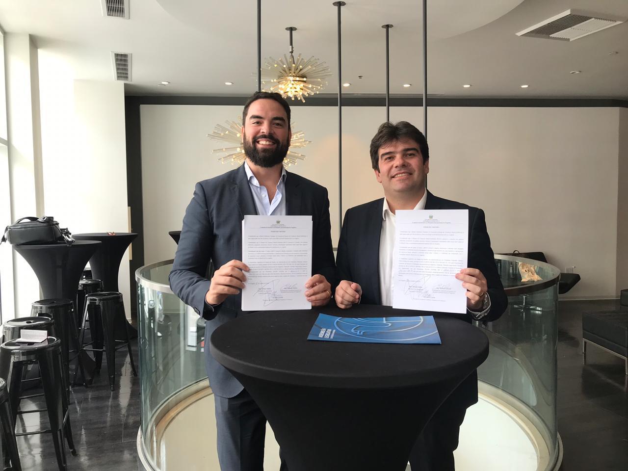 7342f571 a4d0 47a1 ab55 baaa5ea149e8 - Eduardo fecha parceria com Câmara Comércio Brasil-Califórnia para promoção de novos negócios