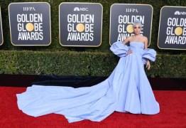 Vestido usado por Lady Gaga no Globo de Ouro 2019 vira caso de polícia