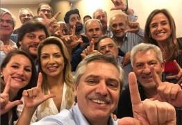 Favorito à presidência na Argentina, Fernández parabeniza e pede Lula livre