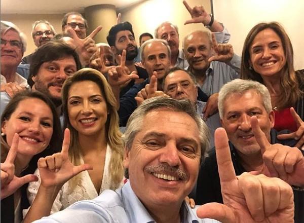 ALBERTO FERNANDEZ - Favorito à presidência na Argentina, Fernández parabeniza e pede Lula livre