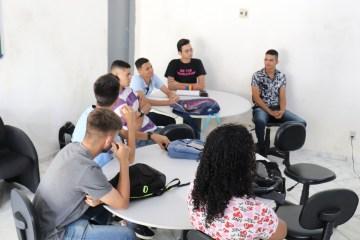 Aula Inaugural Jovem Aprendiz Fotos LeandroSantos Secomd 10 - Estudantes participam da aula inaugural do Programa Jovem Aprendiz em Conde