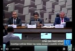 CPI das Fake News debate vulnerabilidade de crianças e adolescentes na internet – ACOMPANHE AO VIVO