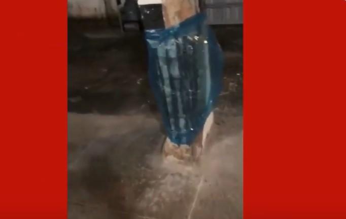 Capturar 29 - Desabamento em Fortaleza: moradores do prédio filmaram o estado das colunas um dia antes do desmoronamento - VEJA VÍDEO