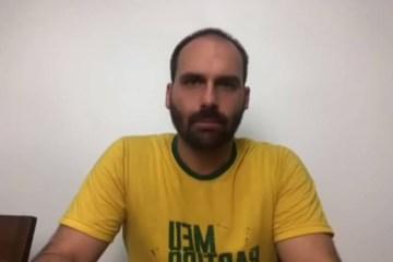 EDUARDO BOLSONARO - EDUARDO x JOICE: filho de Bolsonaro faz vídeo para atacar deputada e culpar Bivar por crise no PSL - VEJA VÍDEO