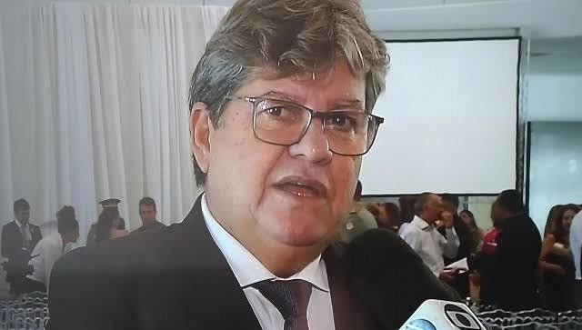 JOAO 4 - 'Só anda comigo quem quer' dispara João Azevêdo após imbróglio envolvendo Gervásio Maia