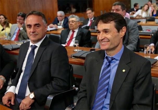 Luciano Cartaxo e Romero em DF out2016 300x210 - Levantamento mostra que João Pessoa foi a quarta capital que menos aumentou investimentos no NE em 2018