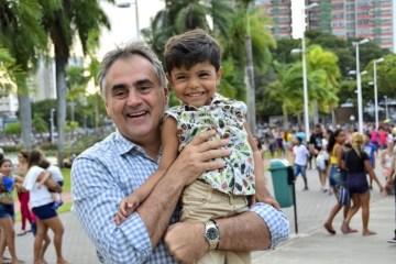 Luciano Cartaxo - Parque da Lagoa e Bica reúnem quase 50 mil pessoas no 'Dia de Brincar e Ser Feliz' para comemorar o Dia das Crianças
