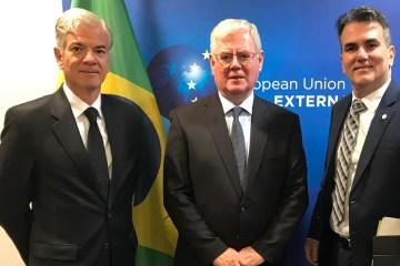 SERGIO QUEIROZ EUROPA - DIREITOS HUMANOS: paraibano Sérgio Queiroz representa Brasil em reunião bilateral com União Europeia