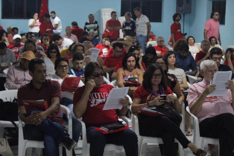 WhatsApp Image 2019 10 19 at 16.55.38 - Jackson Macêdo é reeleito presidente estadual do PT da Paraíba