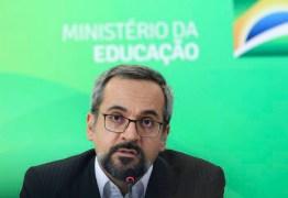 PSDB diz que ministro Weintraub é a 'doença terminal da Educação no Brasil'