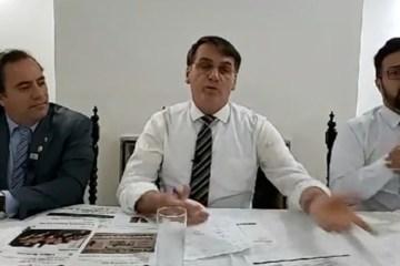 bolsonaro live 1 868x644 - META DOBRADA: Bolsonaro afirma que Brasil alcançou índices de privatização esperados para 2019
