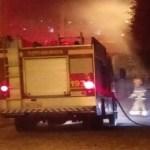 bombeirosjpeg - EXPLOSÃO: Vazamento em botijão de gás, destrói casa e deixa uma pessoa ferida em João Pessoa