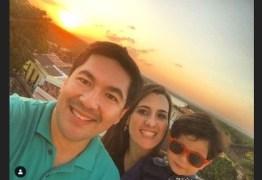 'VOA, MEU AMOR, VEM COMIGO': Patrícia Rocha comemora saída de Bruno Sakaue da TV Cabo Branco e manda mensagem apaixonada