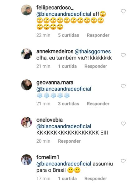 coments 2 - Cantor Diogo, da Banda Melim, assume namoro com Bianca Andrade e faz declaração no aniversário da blogueira